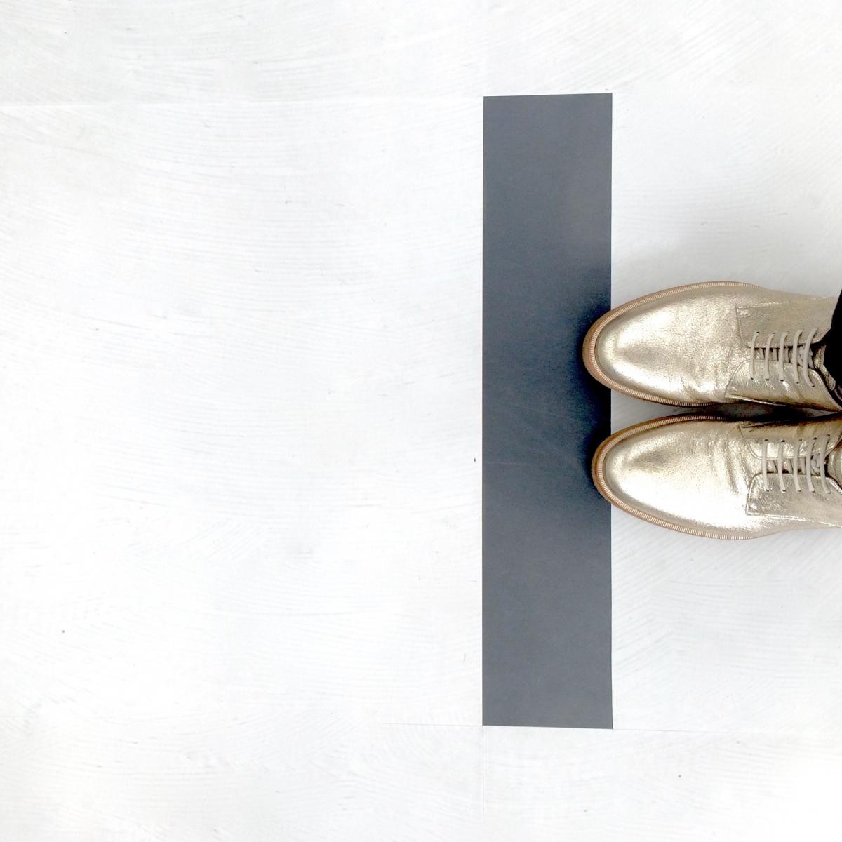 キンキラキンの靴⭐︎