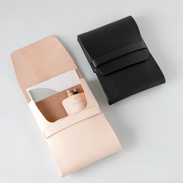 small leather organizer