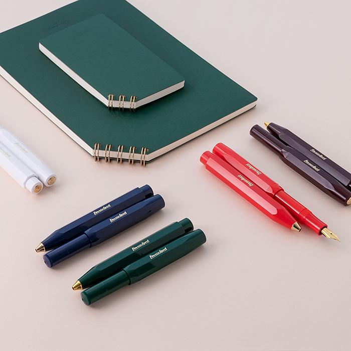 こっくり色のペン